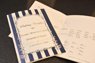 結婚式席次表